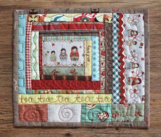 PatchworkPottery: mug rugs