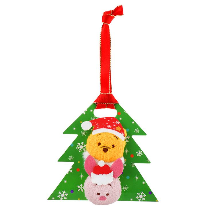 【公式】ディズニーストア|ぬいぐるみバッジ クリスマス ツムツム プーさん&ピグレット TSUM TSUM: |ディズニーグッズ・ギフトの公式通販サイトDisneystore