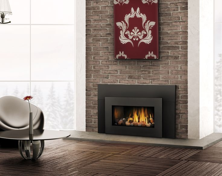 The Napoleon Roxbury™ 30 Gas Fireplace Insert easily transforms your existing masonry or prefabricated fireplace into an efficient heating source, eliminating drafts and ultimately saving you money. The incredible, realistic YELLOW DANCING FLAMES® and elegant designer options turn your room into a tranquil getaway. The state-of-the-art pan burner system guarantees a wide range of heat output, exactly what you need for maximum comfort.