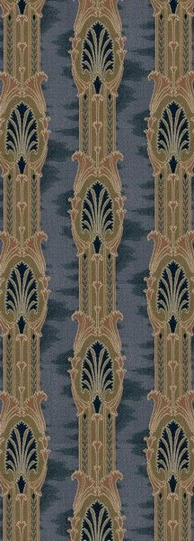 Neo-Classical Stripe - Historic Wallpapers - Victorian Arts - Victorial Crafts - Aesthetic Movement