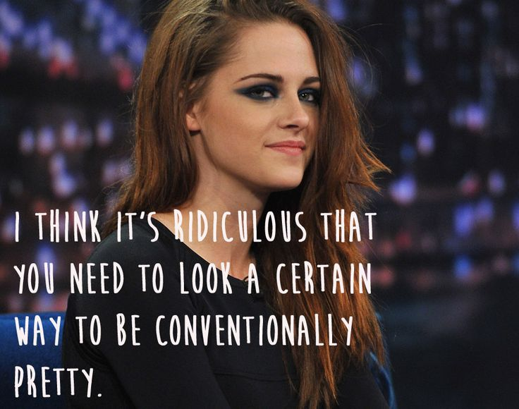 Kristen Stewart. | 29 Celebrities Who Will Actually Make You Feel Good About Your Body