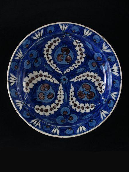 Ottoman Iznik Plate