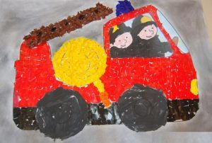 Fire truck craft idea for kids   Crafts and Worksheets for Preschool,Toddler and Kindergarten