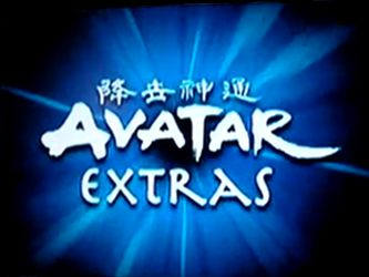 """Full List of Book 2's Avatar Extras was an event hosted by Nicktoons in which episodes of Avatar: The Last Airbender were shown along with a series of """"pop-up extras""""; text bubbles giving facts and humorous comments."""