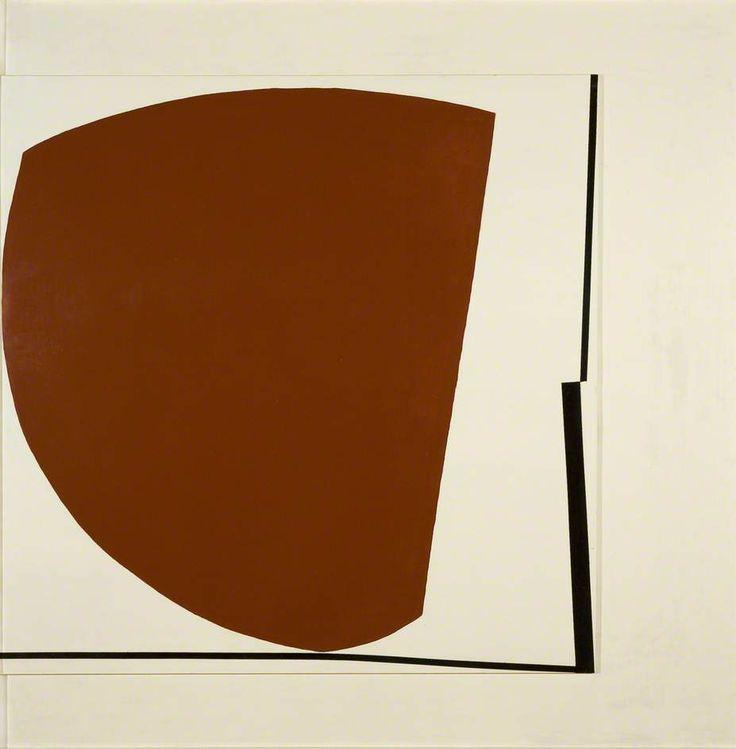 Victor Pasmore Red Abstract No.5 1960