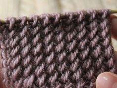 Легко и просто: вяжем спицами узор «резинка с косыми петлями» - Ярмарка Мастеров - ручная работа, handmade
