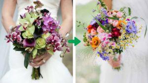 Eksoottiset kukat vs. luonnonkukat