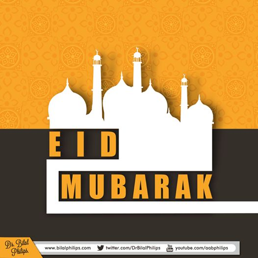 Eid Mubaraak Taqabbal Allaahu minnaa wa minkum May Allaah accept our good deeds and yours. I pray everyone had a good Eed and we all prayed for our brothers and sisters in Palestine, Syria, Iraq, Afghanistan, Burma, Ethiopia, CAR, Indian Occupied Kashmir, etc. Dr Bilal