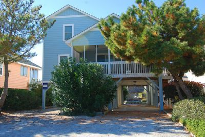 Looking for a small vacation rental at the beach with all of the comforts of home? Look no further than The Beach-Nuts - new to Sunset Properties in 2014 this well decorated beach vacation home is perfect for your family. Enjoy days on the beach and evenings on the screened in porch with a game of cards! #vacation #beachSunset Beach Vacation Rental  House   The Beach-nuts   Sunset Properties