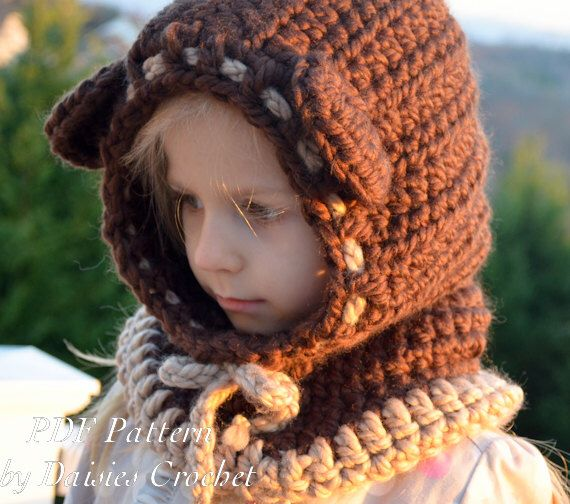 Crochet hooded cowl Pattern. Crochet wrapper digital pdf. Baby, toddler,child, adult sizes. Beriane hooded cowl (044) by AACottonCreations on Etsy https://www.etsy.com/listing/106630146/crochet-hooded-cowl-pattern-crochet