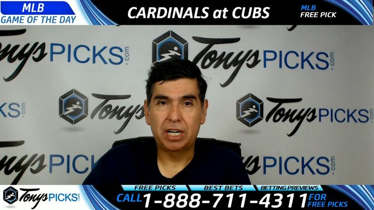 St Louis Cardinals vs. Chicago Cubs Free MLB Baseball Picks and Predicti...