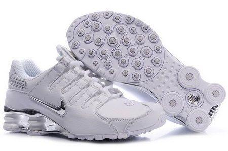 Buy Cheap Women Nike Shox NZ Shoes White Silver For Sale. - [Women Nike Shox NZ] - (Price:$68.99)