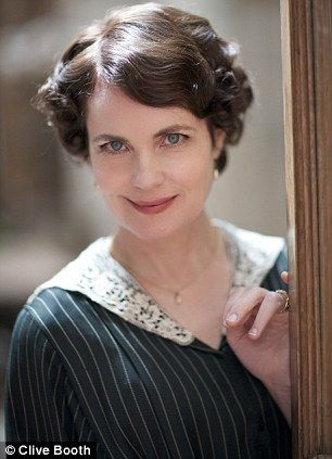 """Elizabeth McGovern as Cora  §   """"Downton Abbey: YOU gets up close and personal on series two of the hit period drama"""" by Emma Cox. Updated August 2, 2011."""