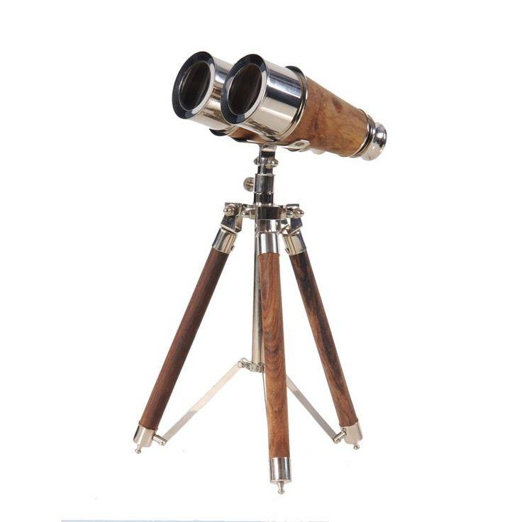 Old Modern Handicrafts Binocular on Display Stand