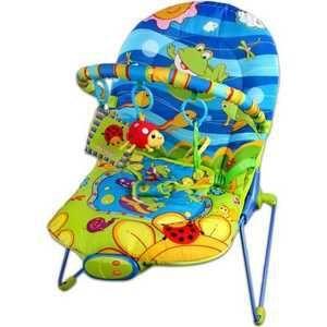 Жирафики Кресло-качалка Веселый лягушонок 93694  — 1678р. ------ Пол ребенка унисекс  Материал ткань/железо    Возраст ребенка От 6 месяцев  Дополнительная информация  Детское кресло-качалка. Вибрация, 10 мелодий, регулировка громкости звука. Дуга с 3-мя развивающими игрушками: погремушка божья коровка, шуршащая тканевая книжечка, зеленое зеркало. 3 позиции положения кресла. 3-х точечный ремень безопасности. Ограничение по весу - до 9 кг. размер упаковки: 800x400x500 мм