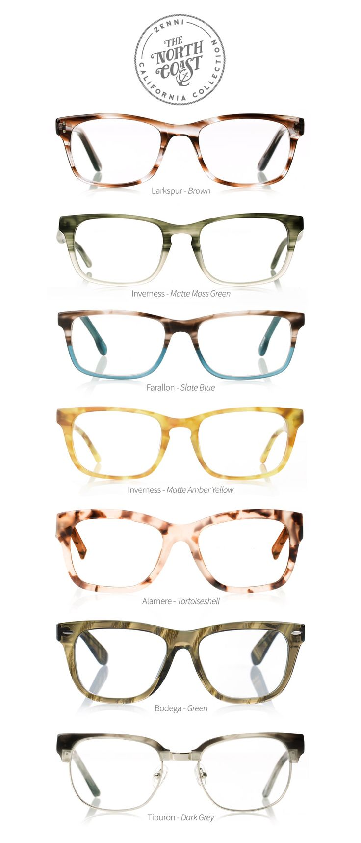 Shop our new collection inspired by Northern California. #Eyewear