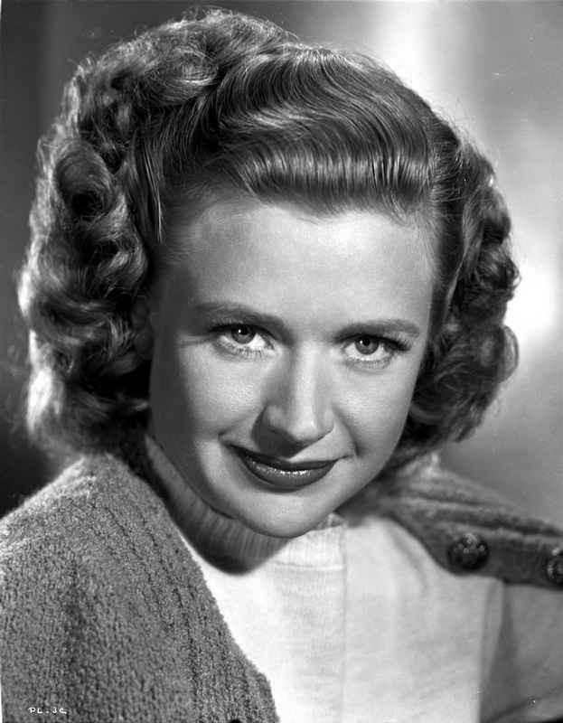 Priscilla Lane on a Knitted Top and Smirking High Quality Photo – Movie Star News