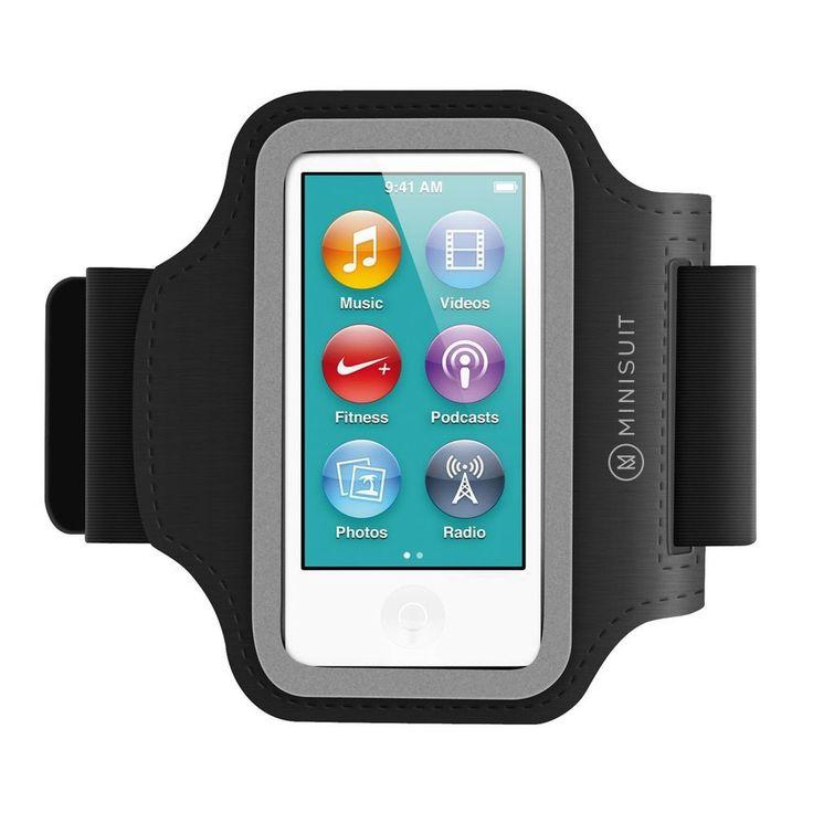 Minisuit SPORTY Neoprene Armband + Key Holder for iPod Nano 7 or 8 / 7th or 8...