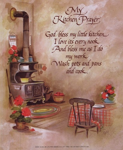 1000 Images About Kitchen Prayers On Pinterest Labor