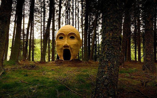 Outdoor art in Britain