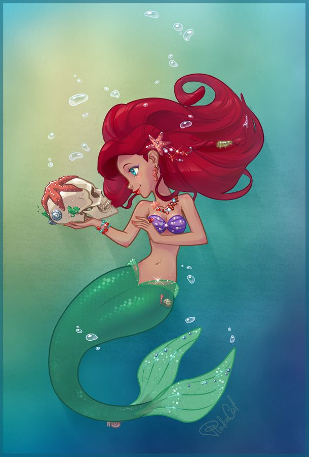 little mermaid characters