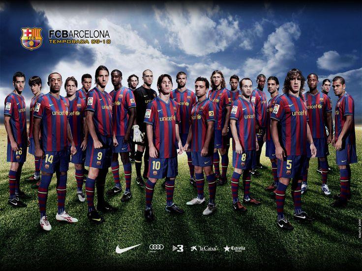 Fc Barcelona Team Wallpaper 2015