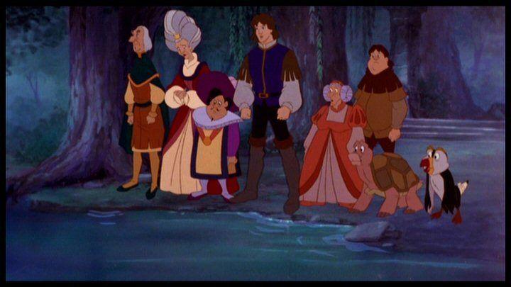 Принцесса лебедь картинки колдуньи