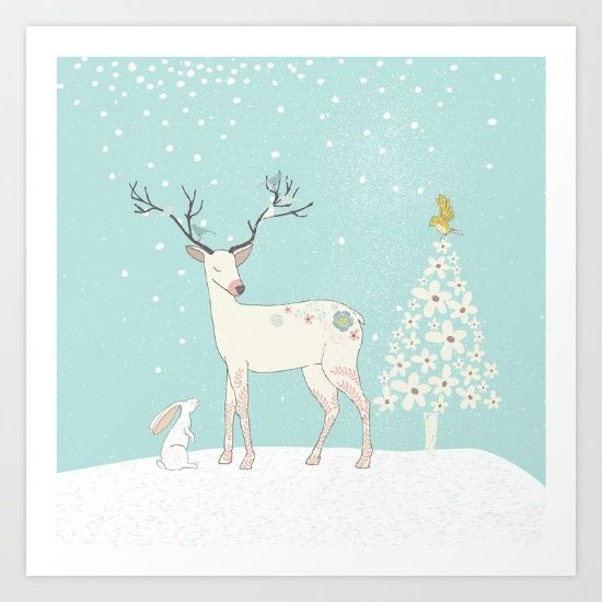https://society6.com/product/winterforest-with-deer-bunny-and-tree-merry-christmas_ipad-case?curator=bestreeartdesigns.  $60