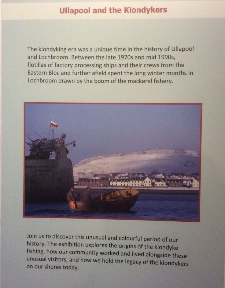 Do you know about #klondyker #fishing? Come to see our fascinating exhibition.