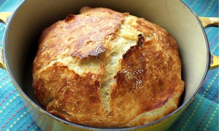 Ce pain infaillible est parfait pour les boulangers débutants... Impossible à rater!