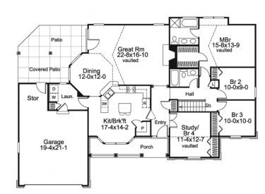 1700 Square Foot Country House Plans Best Single Level House Plans