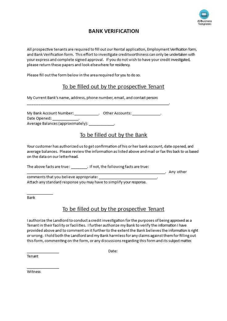 Landlord Verification Form Learn How To Verify A Prospective - landlord employment verification form