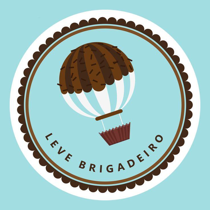 Leve brigadeiro Bakery Logo Design