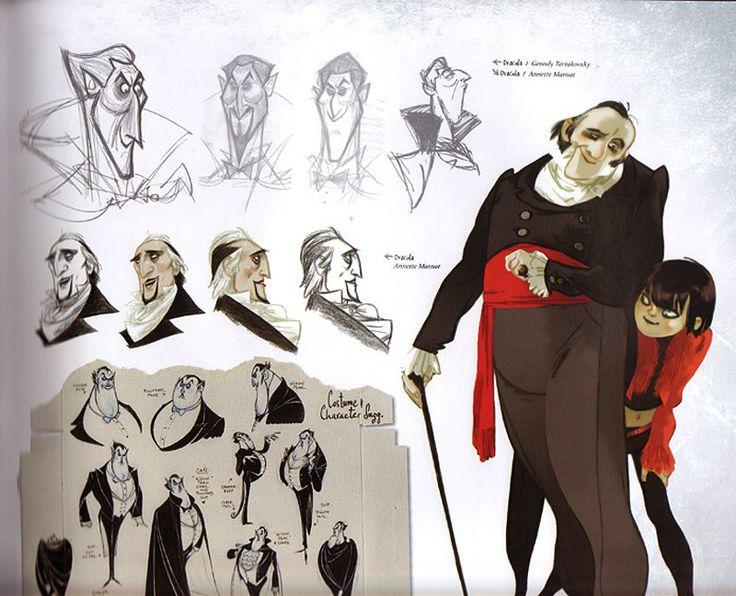 Animation Character Design Theory : Film hotel transylvania character design dracula
