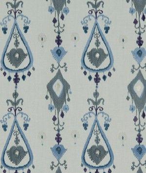 Robert Allen Warm Shimmer Cornflower Fabric
