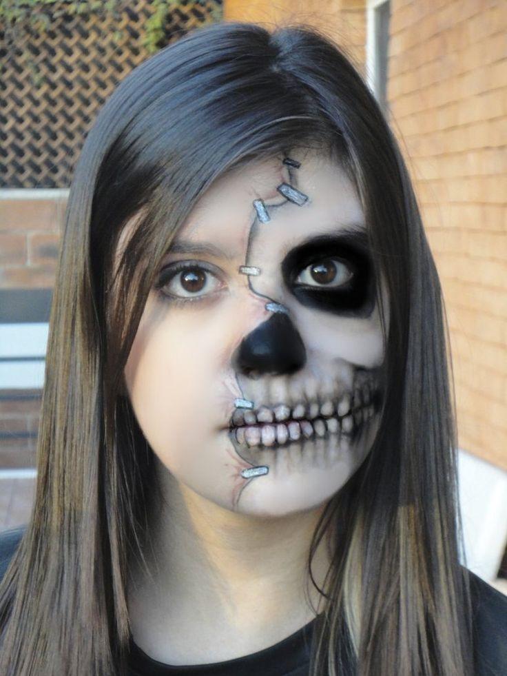 25+ Best Ideas About Half Face Makeup On Pinterest