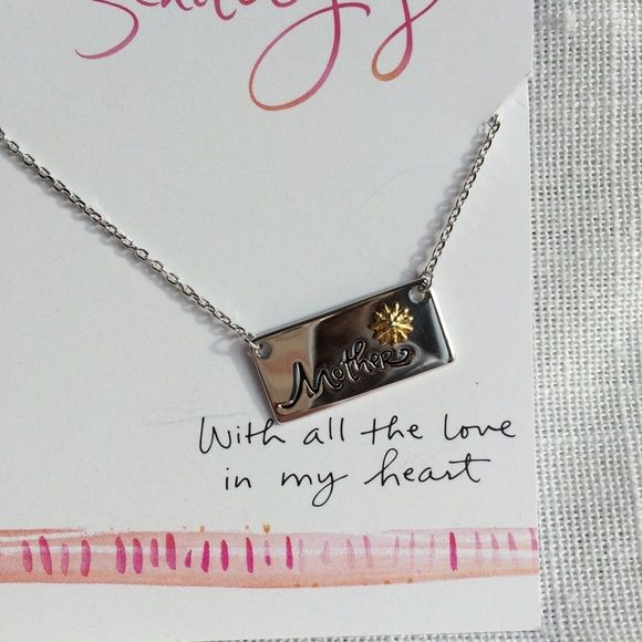 New Mother Bar Silverplate Necklace Brand new. Retail $59.99. Priced at my lowest up front. Offers not accepted.  Jewelry Necklaces