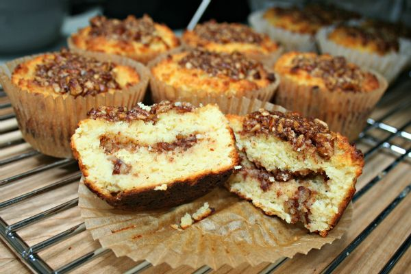 SCD Cinnamon Pecan Streusel Muffins (*Use SCD yogurt...)