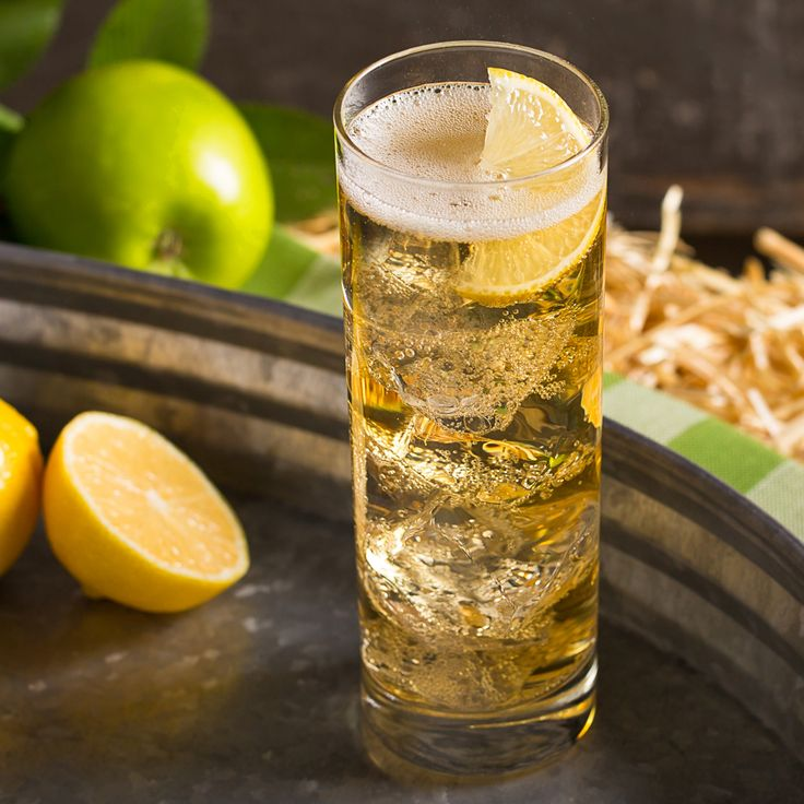 Ginger Cider Recipe Drinks Ginger Ale Cocktail