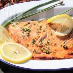 Barbecued Brown Sugar and Soy Salmon @ allrecipes.com.au
