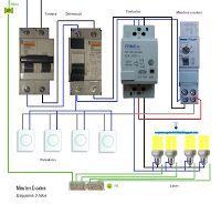 Esquemas eléctricos: Minutero escalera 3 hilos cómo se conecta con un c...