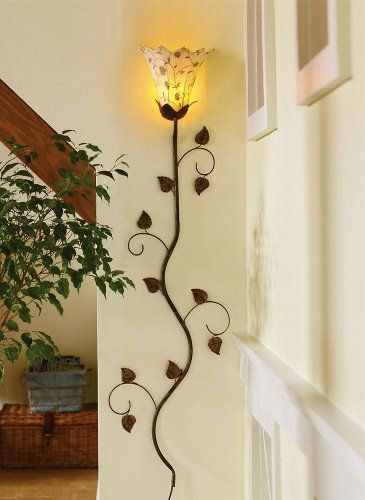 70 best Sconce images on Pinterest | Blacksmithing, Candle wall ...