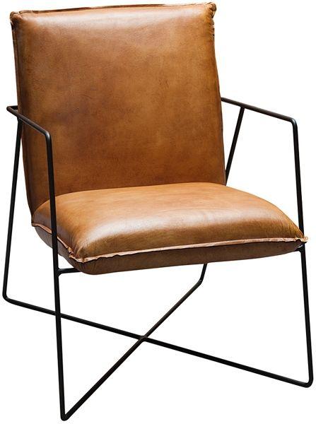 draht_fauteuil_leder_cognac_modern_design