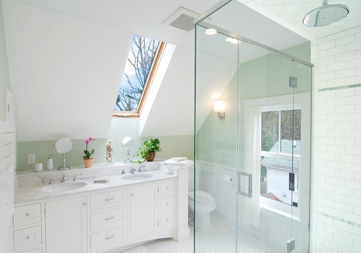 Best 115 Best Attic Bathrooms Images On Pinterest Attic 400 x 300