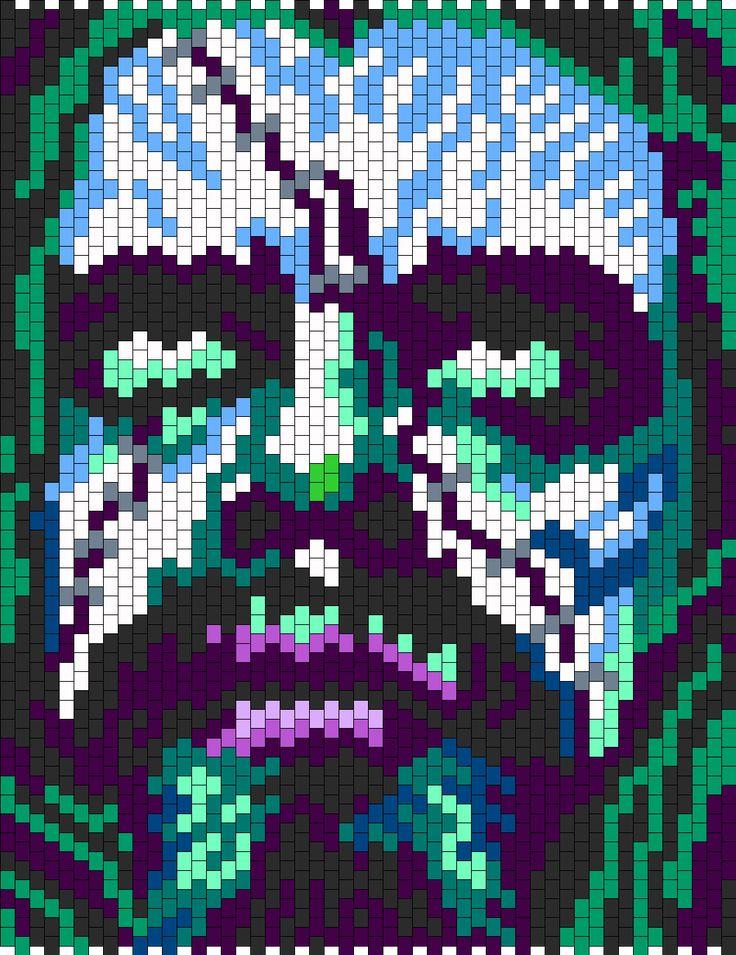Rob Zombie bead pattern