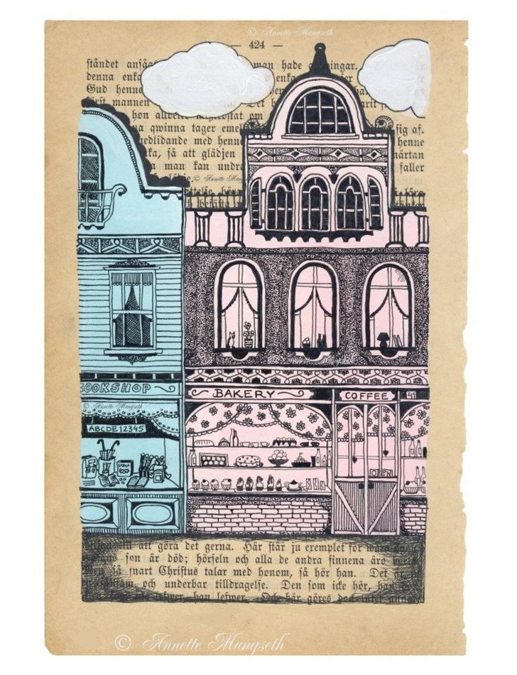 Bakery Print by carambatack on Etsy