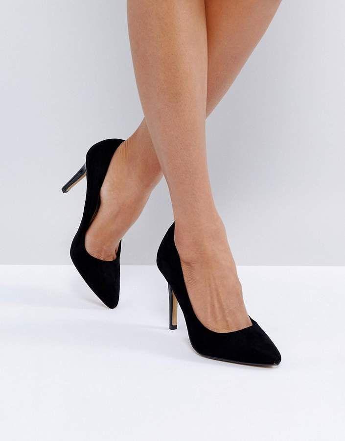Heels Alice Black Heeled Pumps | Heels