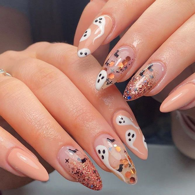 Scary Halloween Nails Designs For Everyone Naildesignsjournal Com Cute Halloween Nails Halloween Nail Designs Halloween Acrylic Nails