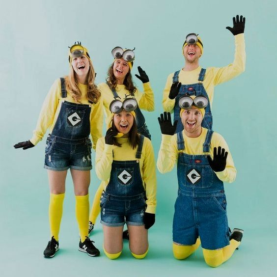 group halloween costumes for teens coed ideas