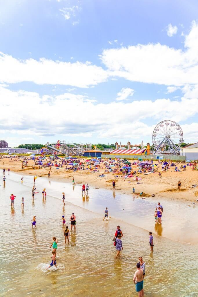 Visiting Old Orchard Beach Maine In